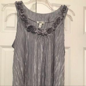 Dress Barn sleeveless blouse women's 2X
